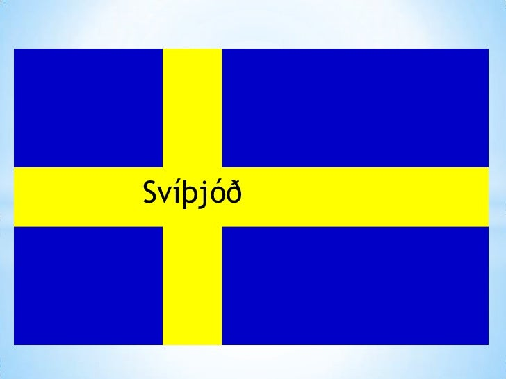 Svíþjóð<br />Svíþjóð<br />Svíþjóð<br />
