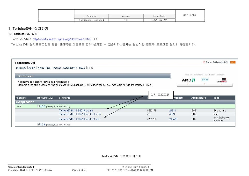 R&D 사업부                                                       Category                      Version                   Issu...