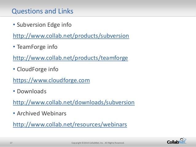 collab subversion download