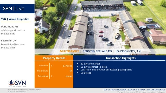 Sale Price $ No. of Units Price /Unit $ Transaction Highlights Property Details 50% OF THE COMMISSION   100% OF THE TIME* ...