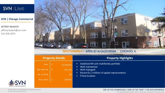 Price $ Buy Side Fee $ No. of Units Price /Unit $ Property Highlights Property Details 50% OF THE COMMISSION   100% OF THE...