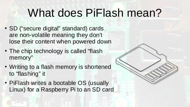 PiFlash: Linux utility to flash SD cards for Raspberry Pi