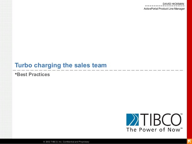 DAVID HICKMAN                                                              ActivePortal Product Line ManagerTurbo charging...