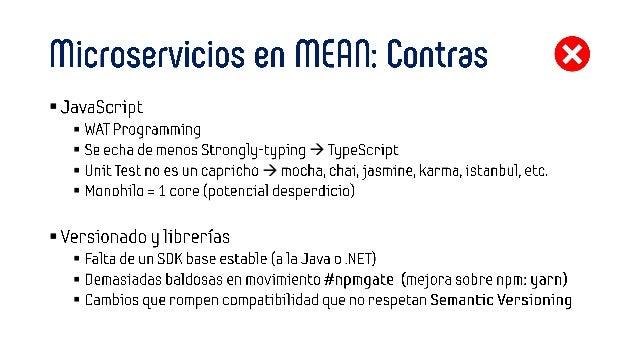 SVQDC 2017 Tecnologías para Microservicios