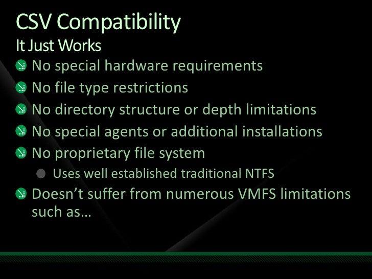 SVR205 Introduction to Hyper-V and Windows Server 2008 R2