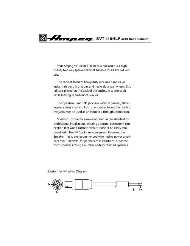 Ampeg SVT-410 HLF manual kullanım klavuzu on 2 way speaker system, public address system wiring diagram, 2 way antenna diagram, 2 way switch diagram, pro audio wiring diagram, subwoofer box wiring diagram, 2 way switches diagram, 2 way speaker components diagram, 3 way speaker wiring diagram,