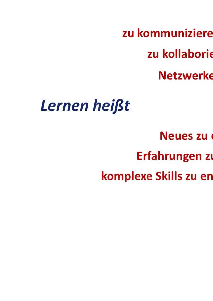 zukommunizieren           zu kommunizieren                zukollaborieren                  NetzwerkezubildenLernenhei...