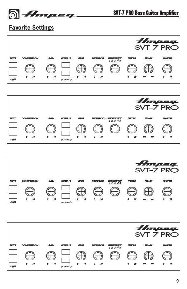 Henry tremain's ampeg svt 3 pro | equipboard®.