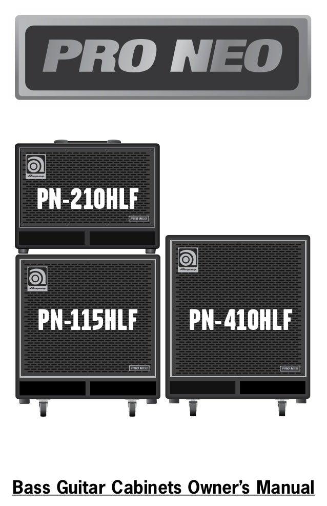 Ampeg pro neo pn115hlf 1x15 bas gitar kabini manual kullanim klavuzu pn 210hlf 4 5 3 6 2 7 pn 210hlf 8 9 10 1 fandeluxe Image collections