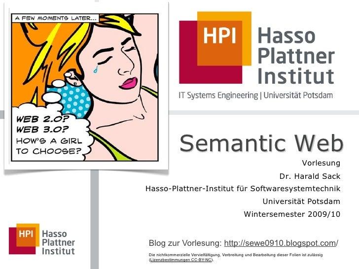Semantic Web                                                                                   Vorlesung                  ...