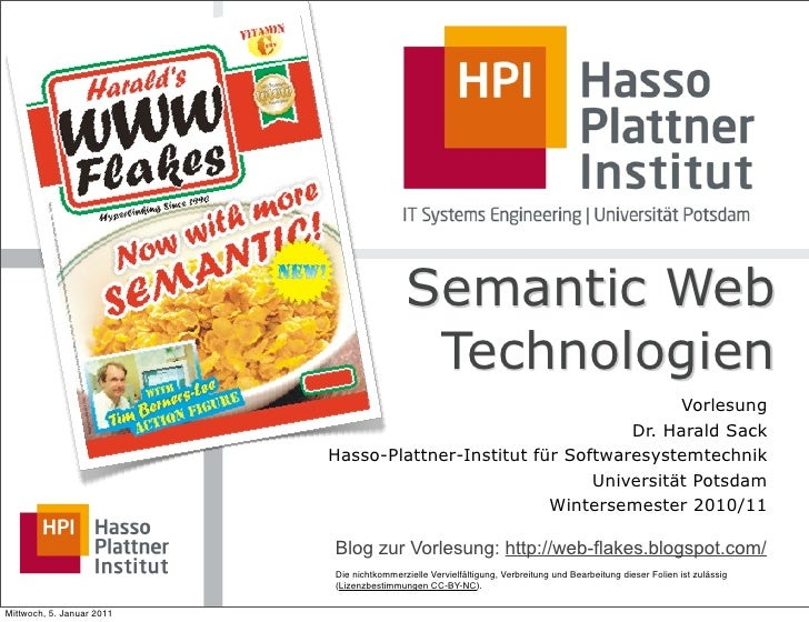 09 OWL und OWL-Semantik - Semantic Web Technologien, WS1011