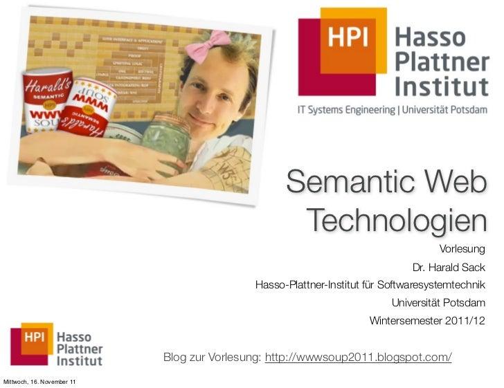 Semantic Web                                                   Technologien                                               ...