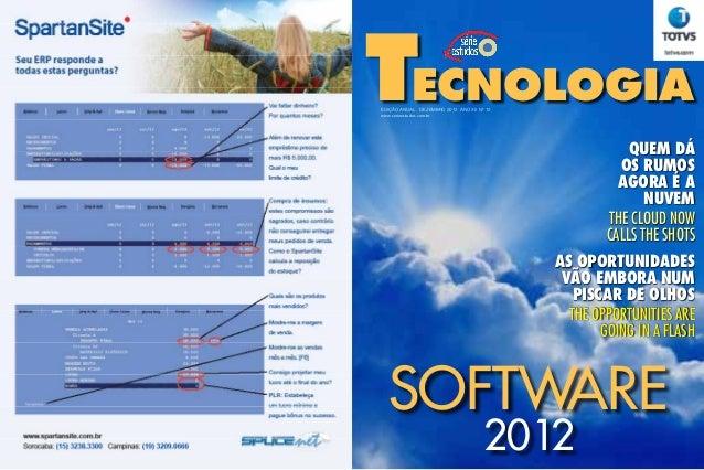 TECNOLOGIAEDIÇÃO ANUAL DEZEMBRO 2012 ANO XII Nº 12www.serieestudos.com.br                                                 ...