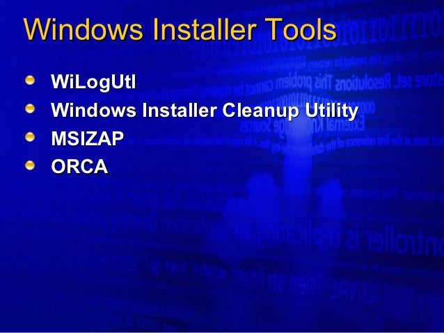 what is windows installer
