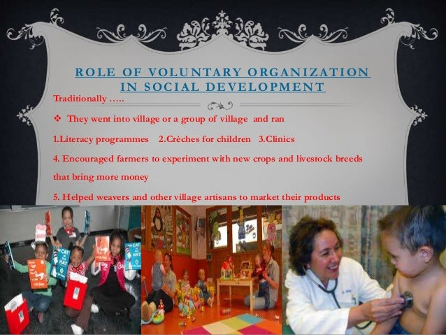 role of voluntary organisation in promoting Value of the role of hr function in voluntary organisations print services in fulfilling the roles envisaged in into the need to promote the.