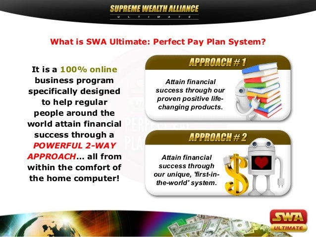 SUPREME WEALTH ALLIANCE ULTIMATE