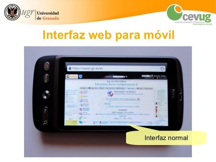 SWAD: en el móvil Slide 3