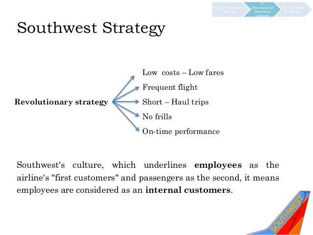 southwest airlines competitive advantage