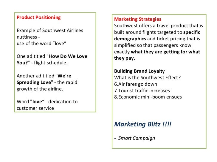 Examples of Strategic Alternatives