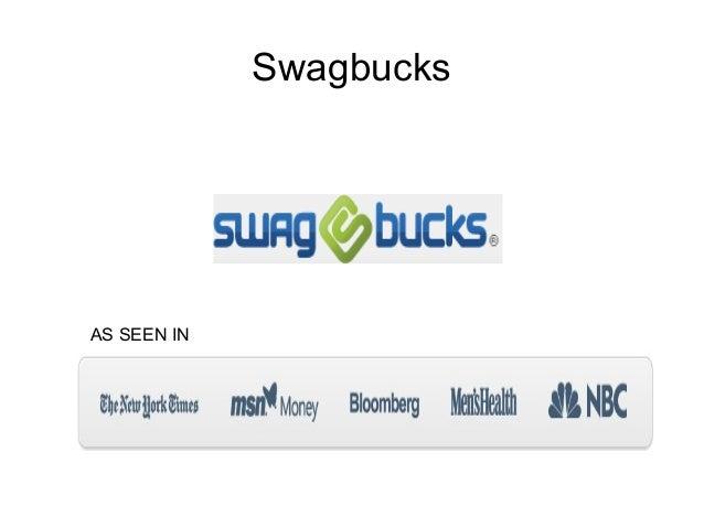 SwagbucksAS SEEN IN