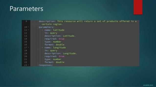 Parameters jcopete.com