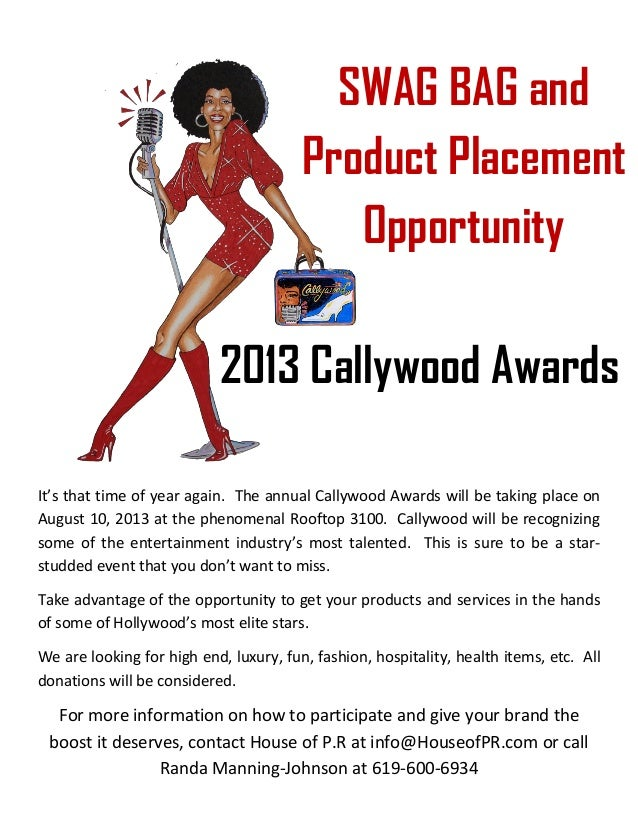 It's that time of year again. The annual Callywood Awards will be taking place onAugust 10, 2013 at the phenomenal Rooftop...