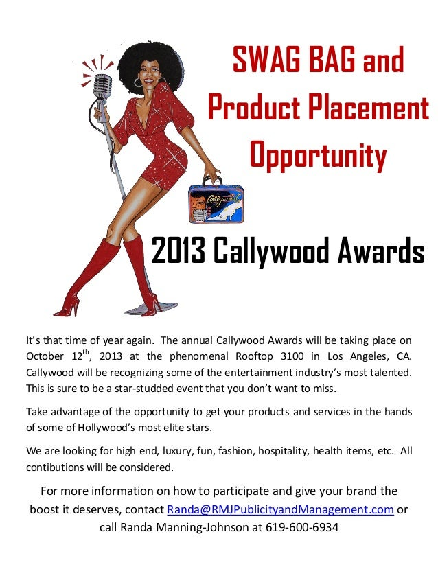It's that time of year again. The annual Callywood Awards will be taking place on October 12th , 2013 at the phenomenal Ro...