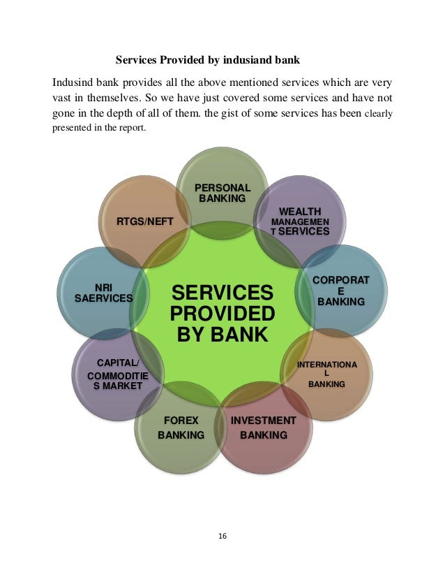 Forex services provided by banks