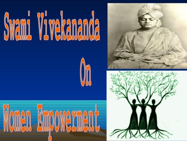 Swami Vivekananda Women Empowerment