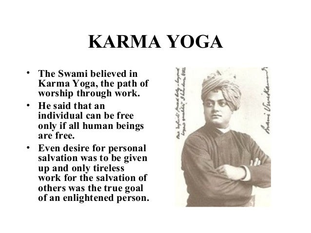 KARMA YOGA O The Swami