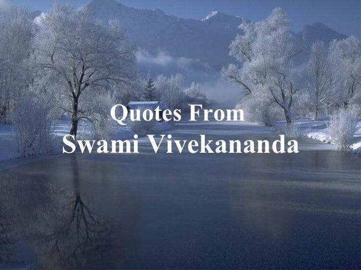 Swami Vivekananda Quotes From Conscious Living Foundation