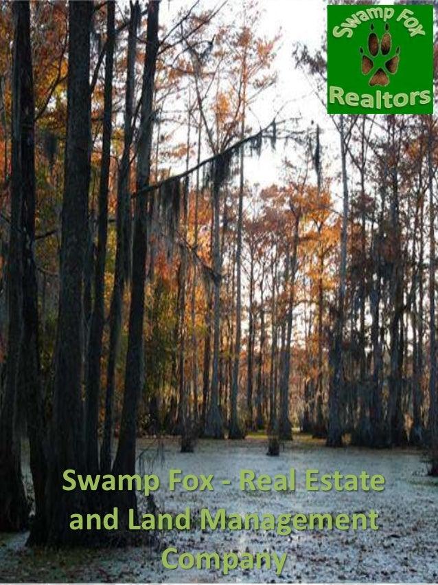 Swamp Fox - Real Estateand Land Management      Company