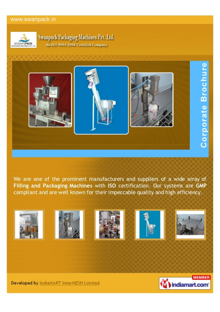 We are one of the prominent manufacturers and suppliers of a wide array ofFilling and Packaging Machines with ISO certific...