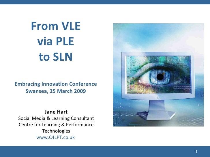 (c) C4LPT, 2009 Jane Hart Social Media & Learning Consultant Centre for Learning & Performance Technologies www.C4LPT.co.u...