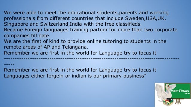 We were able to meet the educational students,parents and working professionals from different countries that include Swed...