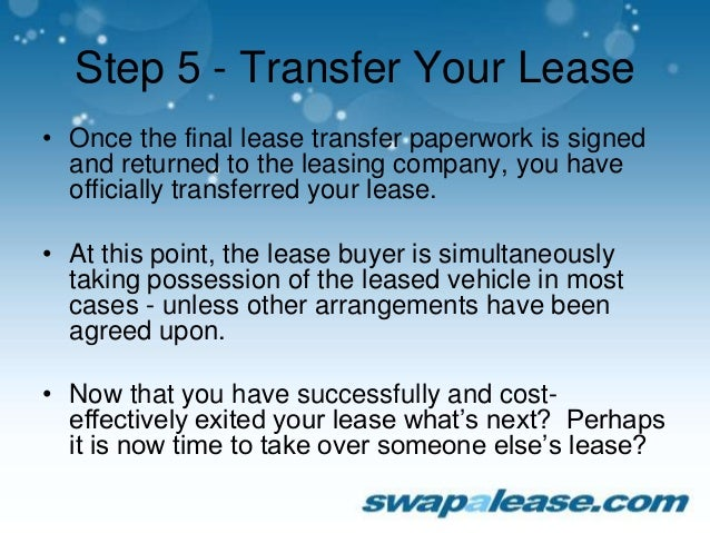 How to Get Out of a Car Lease