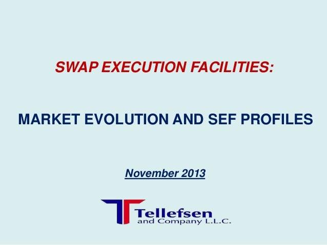 SWAP EXECUTION FACILITIES:  MARKET EVOLUTION AND SEF PROFILES  November 2013