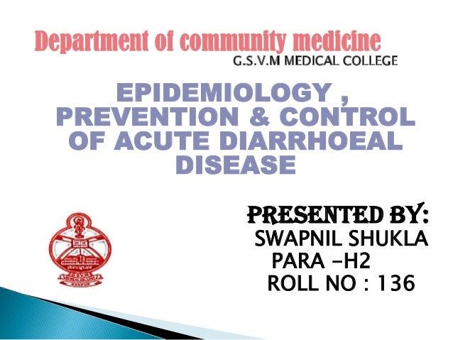 Acute Diarrhoeal Diseases