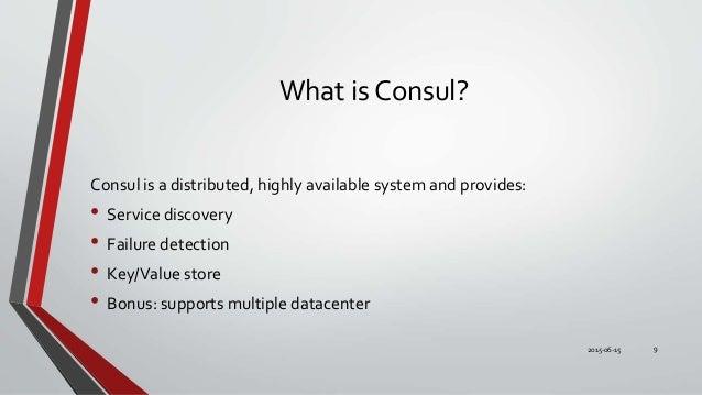 Docker cluster with swarm consul registrator and consul for Docker run consul