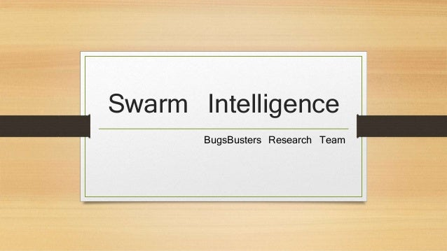 Swarm intelligence phd thesis