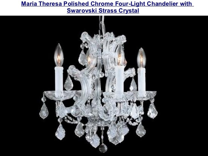 Strass Crystal Chandelier Swarovski strass crystal chandeliers maria theresa four light chandelier with golden teak swarovski strass crystal 3 audiocablefo