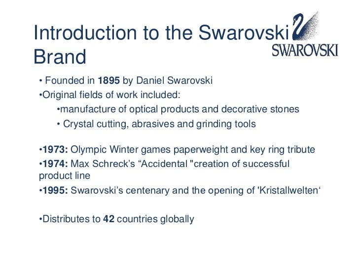 Swarovski Advertising Plan