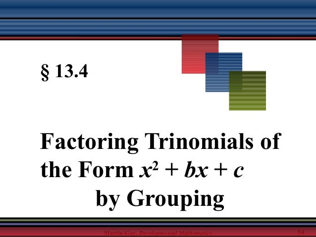 factoring trinomials of the form x2 bx c worksheet answers ...
