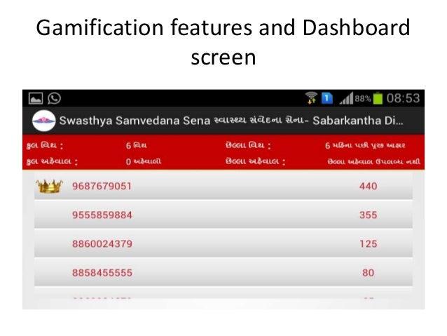 Web based Dashboard