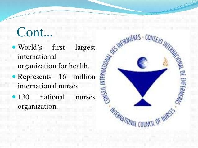 Professional And Regulating Body In Nursing