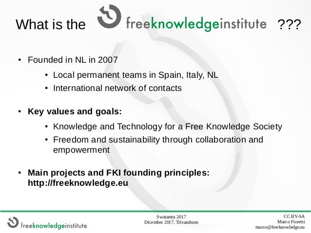 Free as in Freedom products and communities: Open Digital DIY manufacturing across people and cultures Slide 2