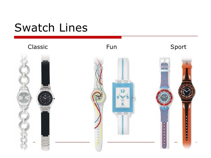 swatch lines classic sport fun