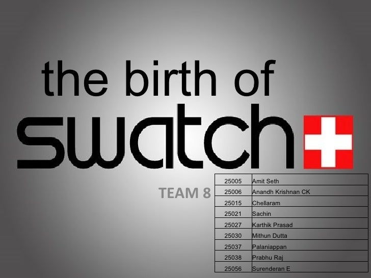 swatch analysis 2 essay