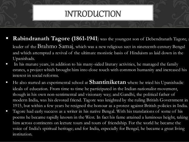 the devotee by rabindranath tagore summary
