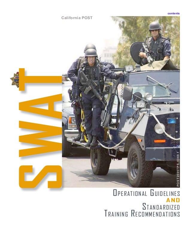 swat training manual rh slideshare net SWAT- team swat training manual free download pdf la pd